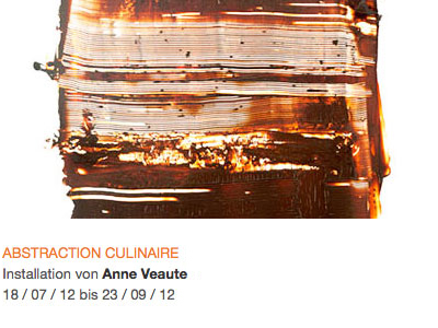 ABSTRACTION CULINAIRE